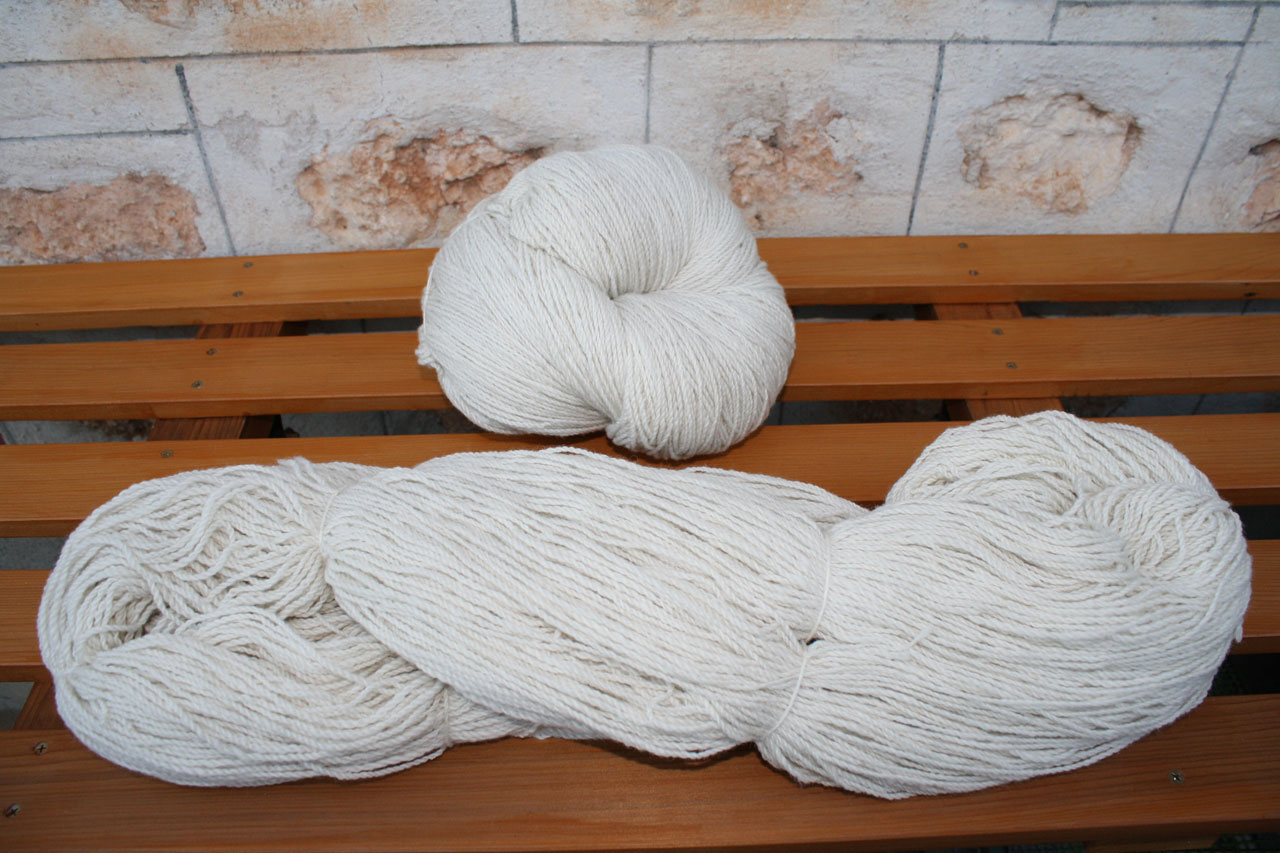 Bare Yarn for Dyepot